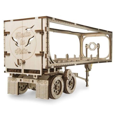 UGEARS Trailer for Heavy Boy Truck VM-03 Self-Assembling 3D Wooden Model