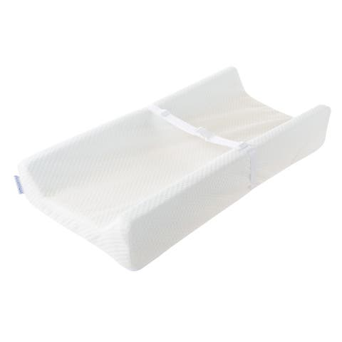 Changing Pad 4.5-Inch Memory Foam Contoured Nursery Bumper by Bluestone