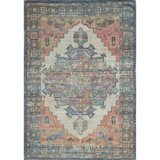 The Curated Nomad Lamartine Hand-woven Jute Multi Pendant Area Rug