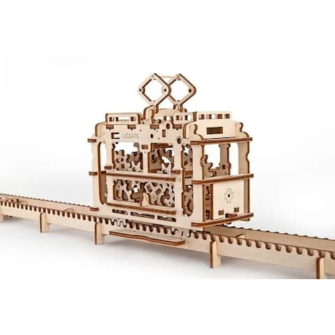 UGEARS 3D Mechanical Wooden Puzzle, Engineering Adult Game, DIY Brain Teaser