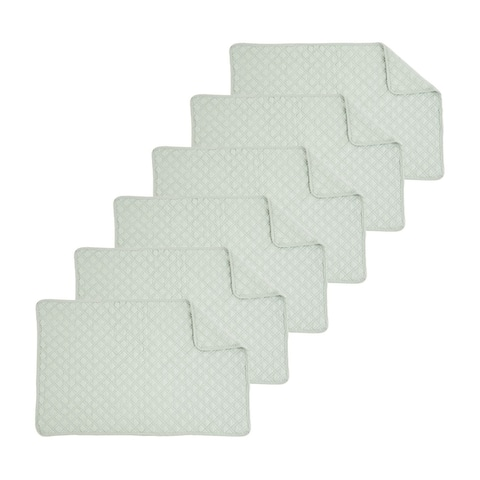 Abbott Quilted Placemat Set of 6