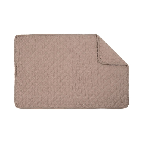 Abbott Quilted Placemat Set of 6 - N/A
