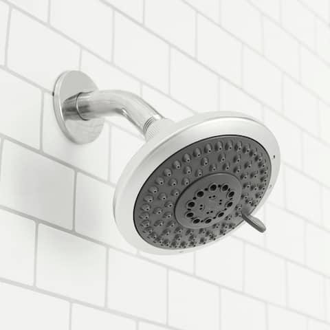 Sunbeam Luxury Retreat Fixed 5 Function Shower Head, Chrome