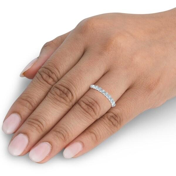 4 Carat Diamond Eternity Ring 14K Yellow Gold