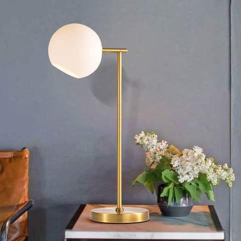 Erato Bronze Table Lamp