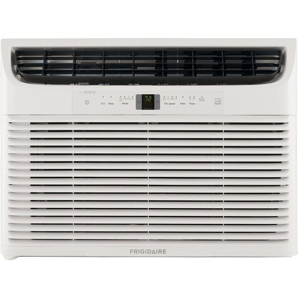 Frigidaire Energy Star 18,000 BTU 230V Window-Mounted Median Air Conditioner with Full-Function Remote Control