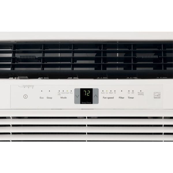 White FRIGIDAIRE Energy Star 22,000 BTU 230V Window-Mounted Heavy-Duty Air Conditioner with Full-Function Remote Control