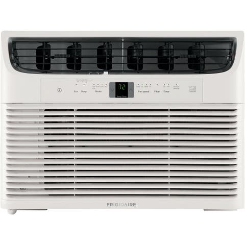 Frigidaire Energy Star 12,000 BTU 115V Window-Mounted Compact Air Conditioner with Full-Function Remote Control