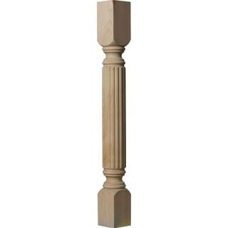 "3 3/4""W x 3 3/4""D x 35 1/2""H Raymond Reeded Cabinet Column"
