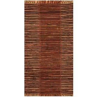 Handmade One-of-a-Kind Wool Kilim (India) - 2'6 x 4'6