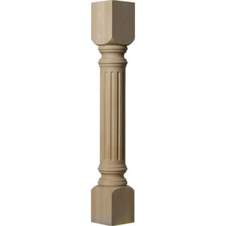 "5""W x 5""D x 35 1/2""H Richmond Fluted Cabinet Column"
