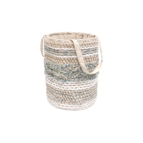 Pasargad Home Grand Canyon Cotton Basket