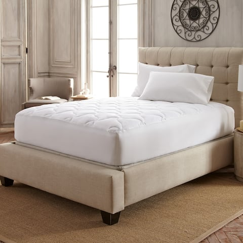 Stearns & Foster® 1000 TC Fairmont Plush Top Mattress Pad - White
