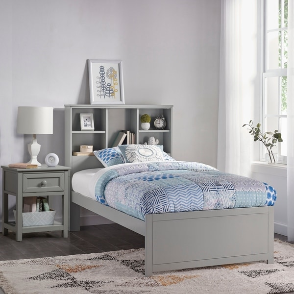 Shop Copper Grove Camberg Twin Bookcase Bed With Nightstand Overstock 28135568