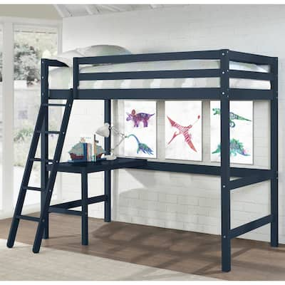Copper Grove Camberg Wood Twin Loft Bed