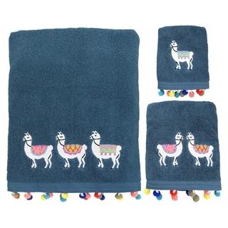 Porch & Den Lomita Llamas 3-piece Towel Set