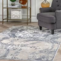 nuLOOM Contemporary Vintage Abstract Hortense Area Rug