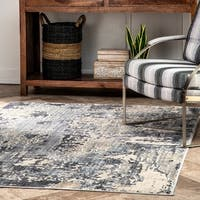nuLOOM Contemporary Modern Abstract Nowlin Area Rug