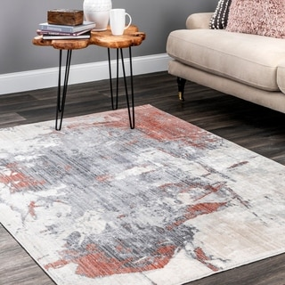 nuLOOM Contemporary Modern Abstract Dempsey Area Rug