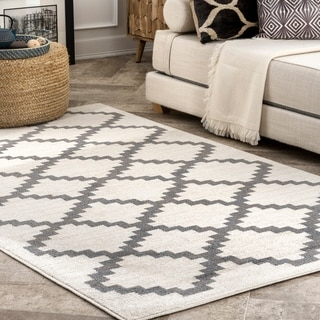Porch & Den Donegal Geometric Trellis Area Rug