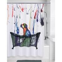 Porch & Den Fleischner Tub Dog' Shower Curtain