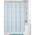 Mod Triangle Shower Curtain Blue