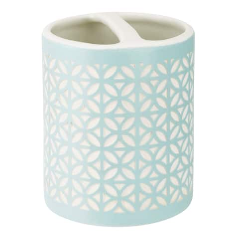 Felix Toothbrush Holder Aqua Blue