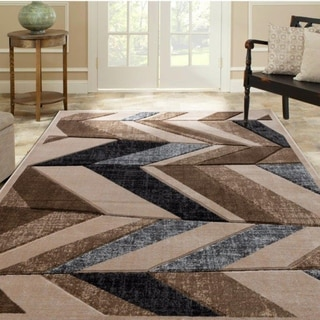 Carson Carrington Ubbaboda Geometric Contemporary Modern Soft Area Rug