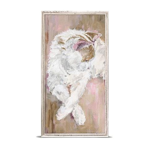 GreenBox 'Bashful' by Susan Pepe Mini Framed Art - 5 x 10