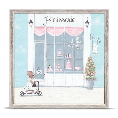 Oopsy Daisy 'Little Patisserie' by Kris Langenberg Mini Framed Art - 6 x 6