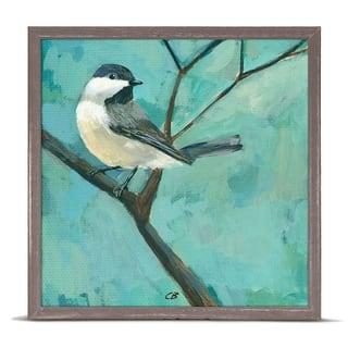 GreenBox 'Chickadee On A Branch' by Cody Blomberg Mini Framed Art - 6 x 6