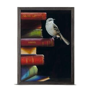 'Literary Roost - To Kill A Mockingbird' Mini Framed Art - 5 x 7