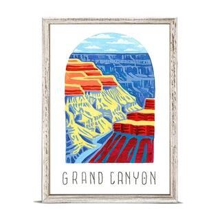 'National Parks - Grand Canyon' by Angela Staehling Mini Framed Art - 5 x 7
