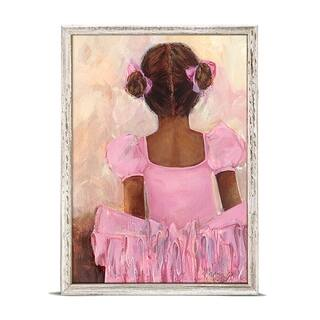 'Perfect Ballerina - African American' Mini Framed Art - 5 x 7
