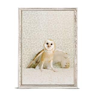 GreenBox 'Owl On Neutral' by Catherine Ledner Mini Framed Art - 5 x 7