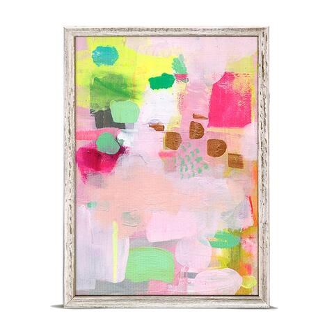 GreenBox 'Raspberry Rose Mint' by Mati Rose McDonough Mini Framed Art - 5 x 7