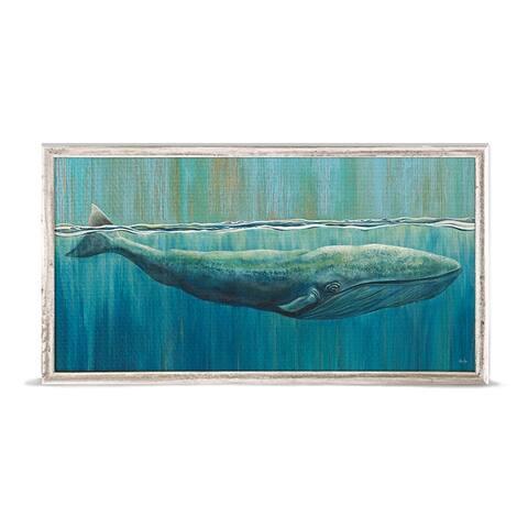 GreenBox 'Sun Bathing Beauty' by Karin Grow Mini Framed Art - 10 x 5