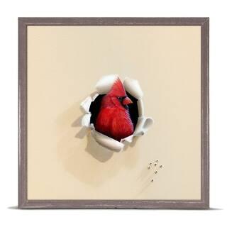 'Trespasser - Handsome Redhead' by Camille Engel Mini Framed Art - 6 x 6