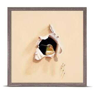 GreenBox 'Trespasser - Hello Sugar' by Camille Engel Mini Framed Art - 6 x 6