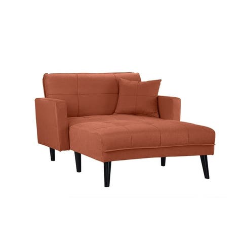Buy Chaise Lounges Orange Living Room Chairs Online At