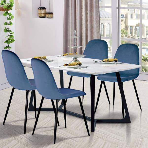 Miraculous Shop Carson Carrington Terrsjo Mid Century Modern Velvet Machost Co Dining Chair Design Ideas Machostcouk