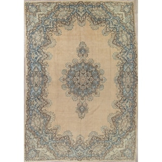 """Palace Size Faded Persian Oriental Hand Knotted Wool Area Rug - 16'7"""" x 11'2"""""""
