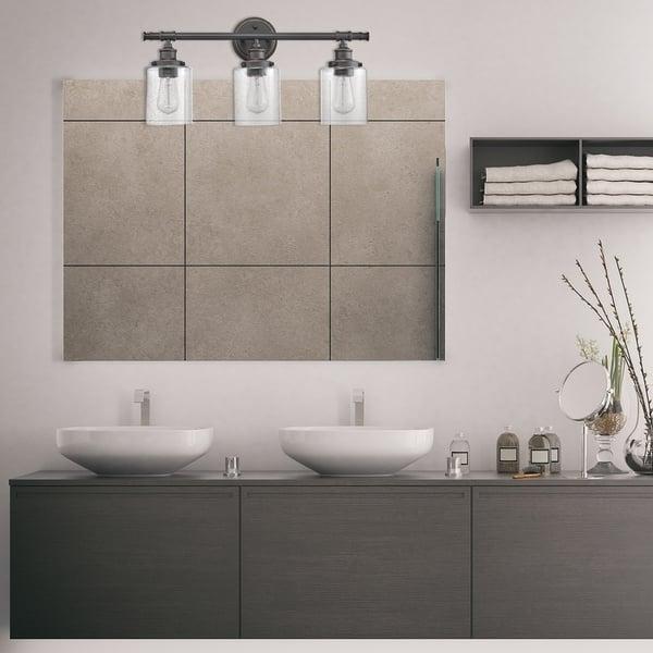 5 Piece All In One Bronze Bathroom Set