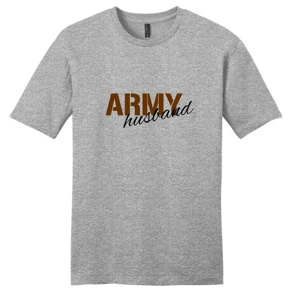 Army Husband T-Shirt - Unisex Fit Military Shirt by  Best Design