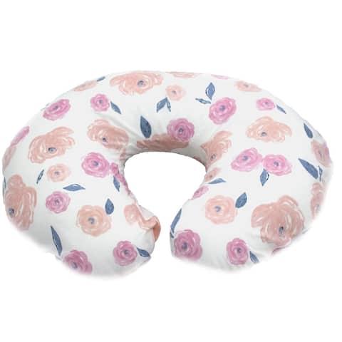 Pam Grace Vintage Rose Boppy Cover - Pink