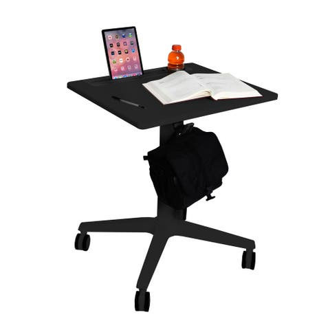 AIRLIFT® XL Sit-Stand Adjustable Mobile Student Classroom Desk