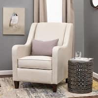 Shop Strick Amp Bolton Merle Grey Bucket Seat Arm Chair