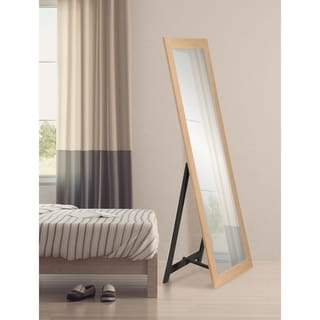 Raw Farmhouse Natural Full Length Freestanding Mirror