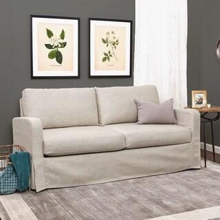 Finch Kingsley Textured Upholstered Skirted Sofa