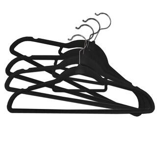"Studio 707- 30 Pack Velvet Hangers with Hook - 17×9"""